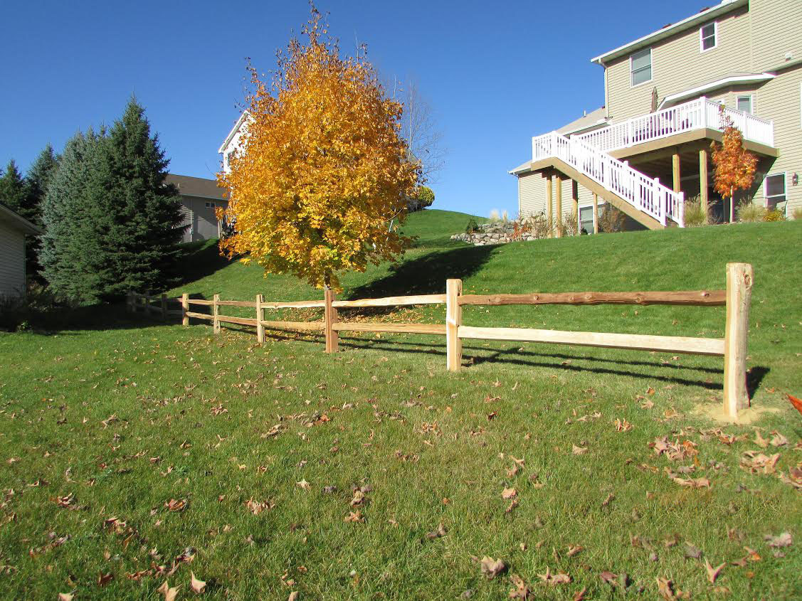 Cedar Picket Fences Mn Fence Installation Company Dan
