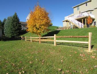 Cedar-split-rail