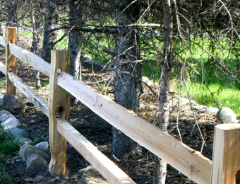 split-rail